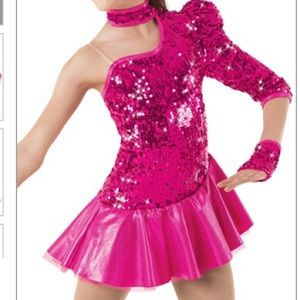 Weissman Pageant Dance Call Me Maybe Costume 9243
